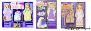 Princess Magnetic Dolls